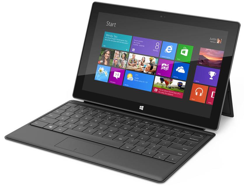 Microsoft Surface - первый планшет от Microsoft