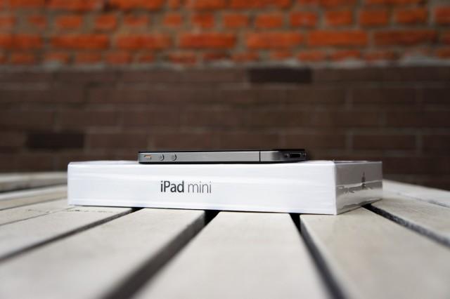 iPad mini - вид сбоку